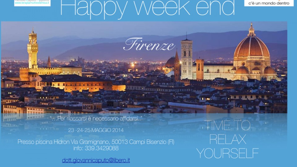 Happy week end associazione crescereassociazione crescere for Piscina hidron